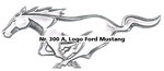 Nr. 300 A, Logo Ford Mustang