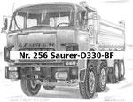 Nr. 256 Saurer-D330-BF
