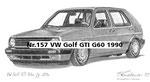Nr.157 VW Golf GTI G60 1990
