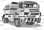 Nr. 257 Saurer-D250BF