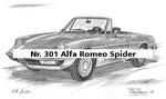 Nr. 301 Alfa Romeo Spider
