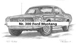 Nr. 300 Ford Mustang