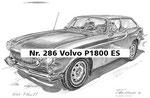 Nr. 286 Volvo P1800 ES