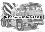 Nr.130 Saurer D330 6x4 1983