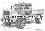 Nr.228 Saurer D290 B 4X4