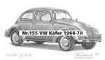 Nr.155 VW Käfer 1968-70