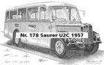 Nr. 178 Saurer U2C 1957