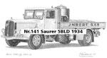 Nr.141 Saurer 5BLD 1934