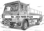 Nr. 260 FBW-F520