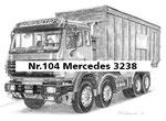 Nr.104 Mercedes 3238