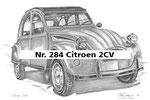 Nr. 284 Citroen 2CV