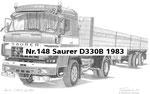 Nr.148 Saurer D330B 1983