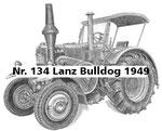 Nr. 134 Lanz Bulldog 1949