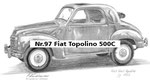 Nr.97 Fiat Topolino 500C