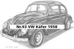 Nr.93 VW Käfer 1958