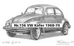 Nr.156 VW Käfer 1968-70