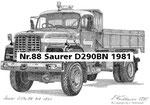 Nr.88 Saurer D290BN 1981