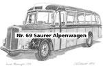 Nr. 69 Saurer Alpenwagen