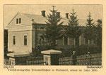 Приватна німецька школа євангелістів у с. Гельзендорф ( Загірне ). Побудована 1895 року  Private German school of evangelists in the village Gelsendorf (Zahirne). Built in 1895