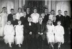 пастор в Gelsendorf 1937 рік