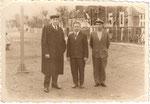 Біля клубу села Загірне початок 60 років 20 ст.