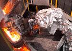 Cubierta de aluminio forjado de protección kevlar robot de fundición