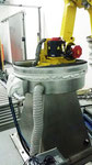 arco, que fixa cobertura de proteção robô Fanuc