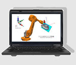 logiciel simulation robotique