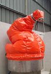 housse de protection ventilée hdpr robot Kuka de lavage haute pression