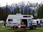 Kicking Horse Camground, Yoho NP, BC, Kanada