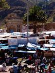 Markt in Pisac, Peru