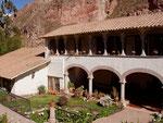 alte spanische Hazienda im Urumbaba-Tal, Peru