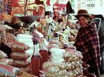 Markt in Lapaz, Bolivien