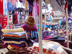 Markt in Saquisili, Equador