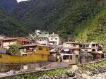 Aguas Calientes am Fusse des Macchu Picchu, Peru