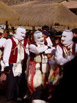 Prozessionen in Pisac, Peru