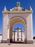 Basilica in Copacabana, Bolivien