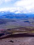 Blick vom Cotopaxi, Equador