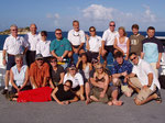 Crew und Touris von Mike Ball Supersport