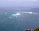 Cape Reinga Zusammentreffen der Tasmanischen See mit dem Pazifik