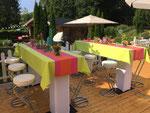 Geburtstagsfeier im Garten