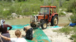 Le tracteur essore