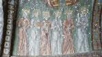 Fresque dans une église troglodytique