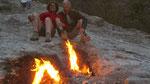 Flammes naturelles de Chimère