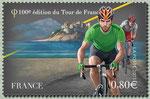 Maillot vert à Calvi en Corse