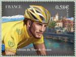 Le maillot jaune devant Annecy