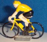 Cycliste métal Maillot jaune CHAMPION  années 90