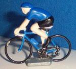 Cycliste métal Maillot bleu CHAMPION  années 90
