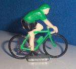 Cycliste métal Maillot vert CHAMPION  années 90