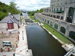 Ecluses donnant sur la rivière Ottawa